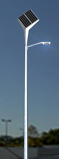 SOLED Solar Straßenbeleuchtung XP2 TrendLine