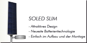 SOLED SLIM - geradlinige Formensprache und hervorragende LED-Lichttechnik.